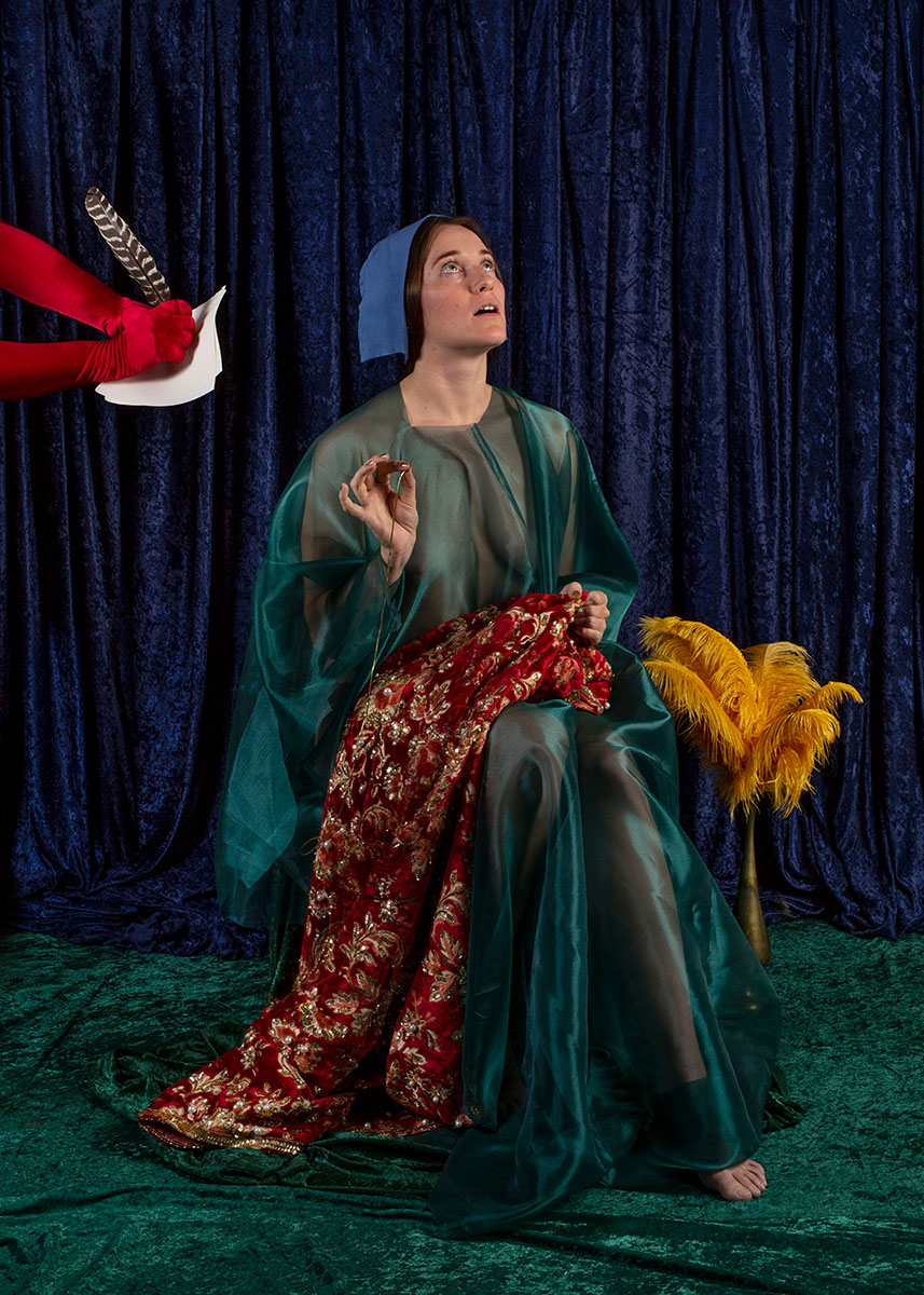 Theater Of The Absurd Staged Photographs Reflect Witchcraft