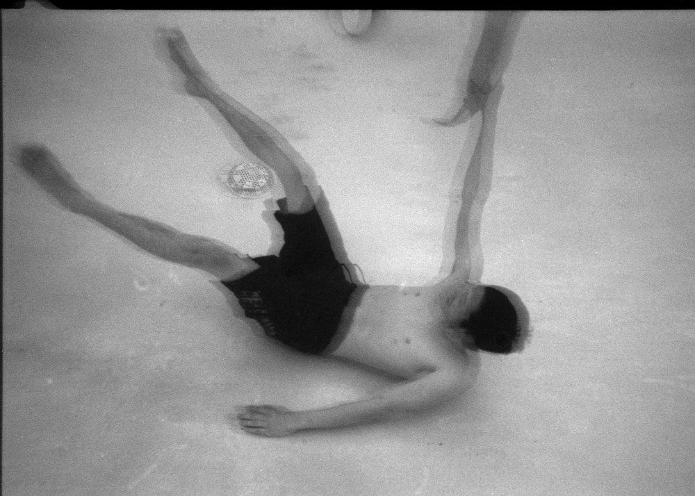 Sinking Body. © Joey Solomon