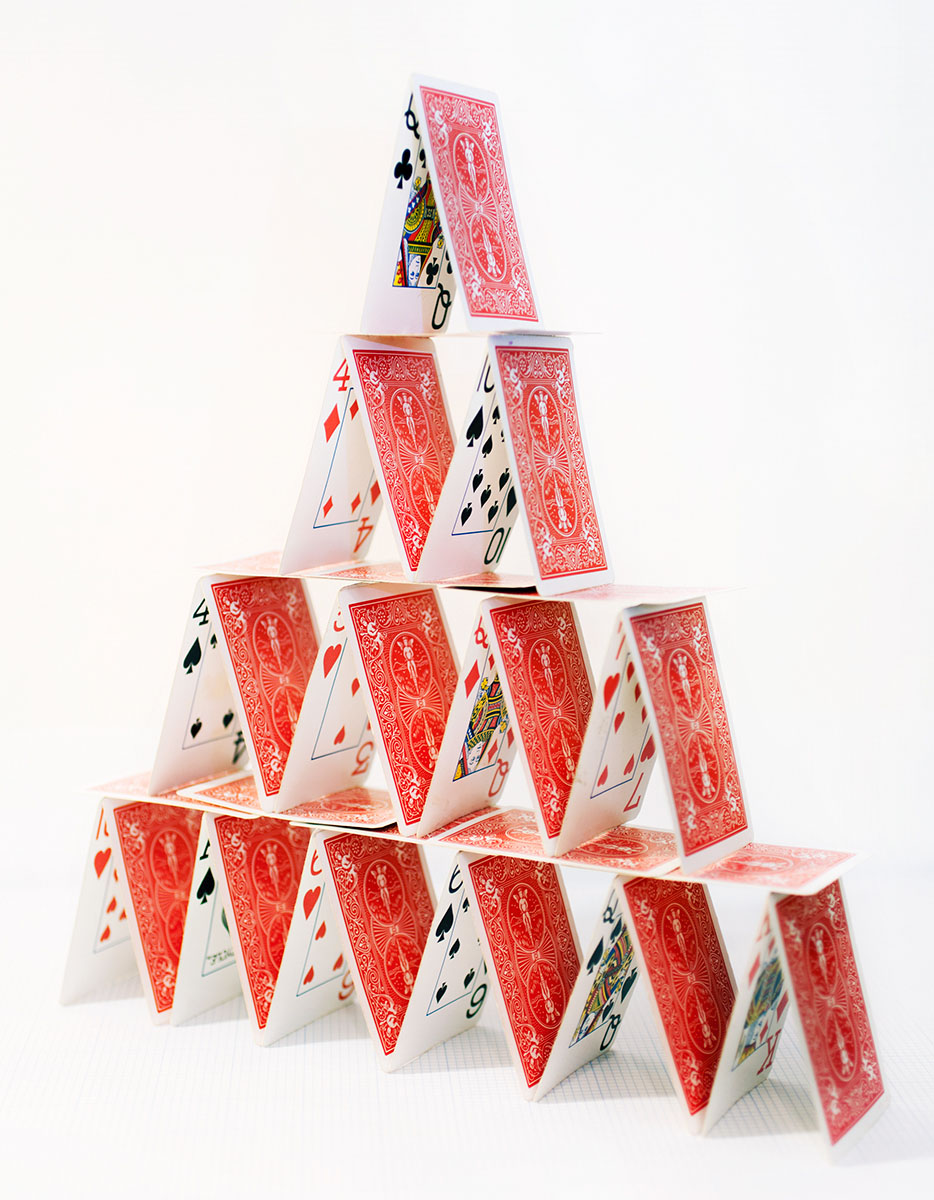 House Of Cards. © Brittany Marcoux