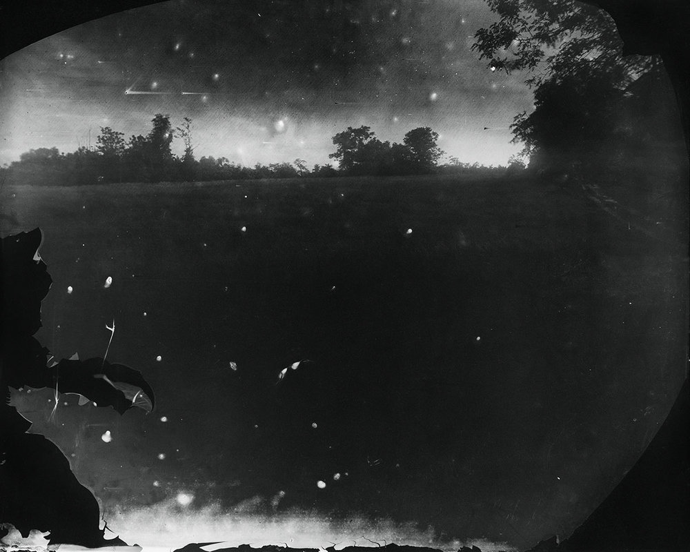 © Sally Mann  Battlefields, Antietam (Starry Night) , 2001. Gelatin silver print. Alan Kirshner and Deborah Mihaloff Art Collection