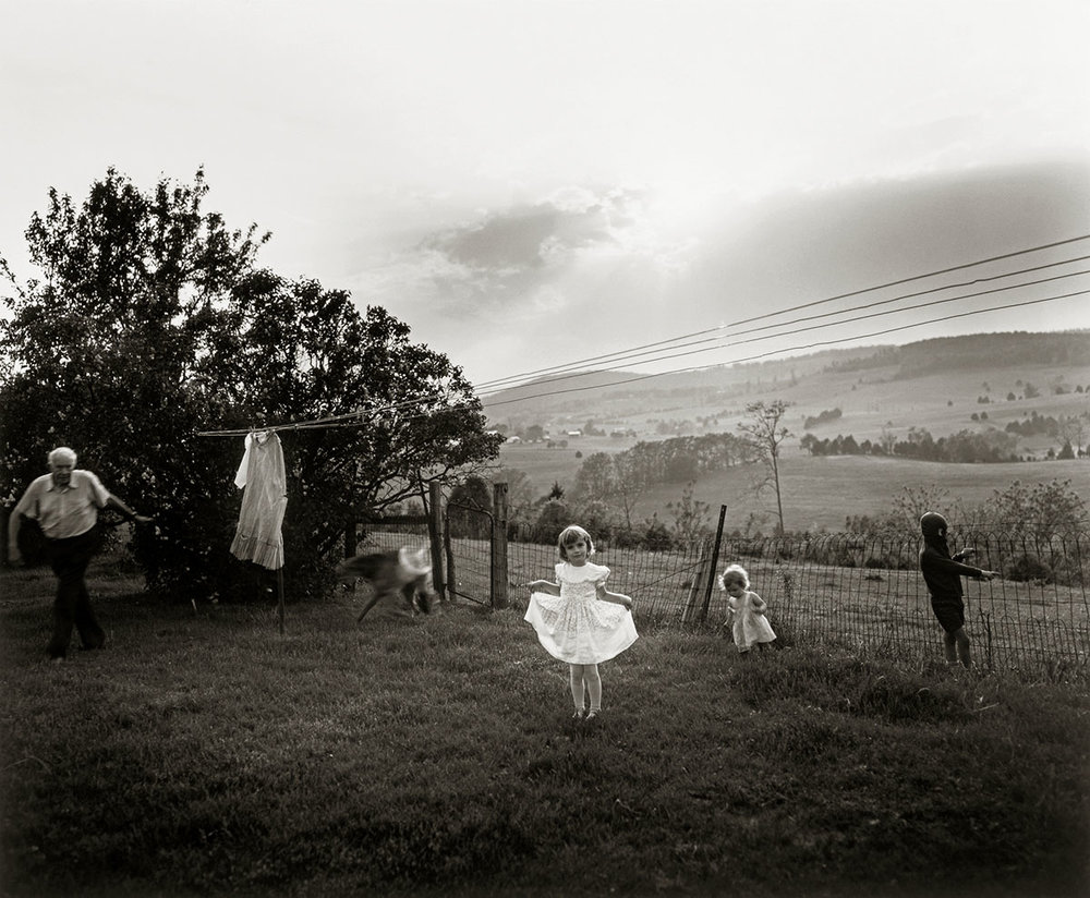 © Sally Mann.  Easter Dress, 1986.  Gelatin silver print. Courtesy of Patricia and David Schulte
