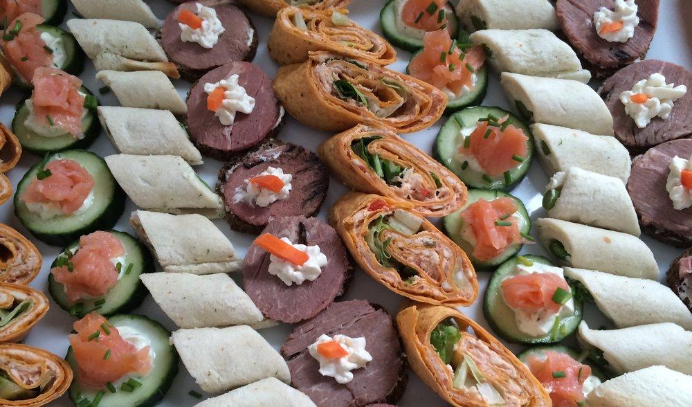 mini wraps appetizer finger foods