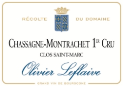 Leflaive's Clos Saint-Marc was one of the most stunning whites I tasted from 2012