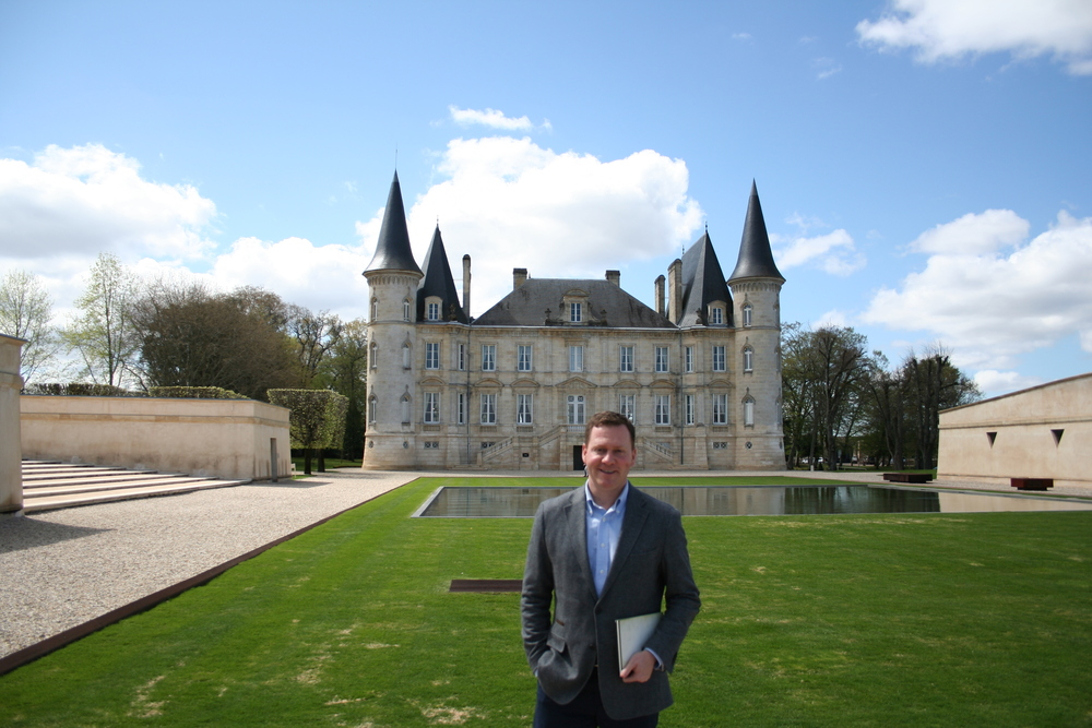 tasting and lunch at Chateau Pichon Baron