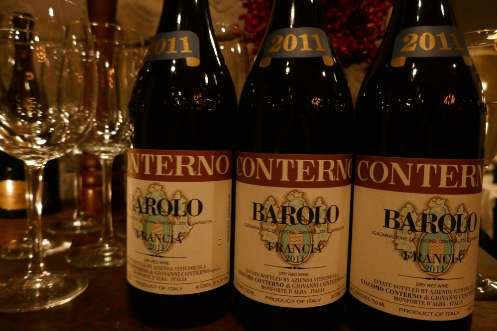 2011 Giacomo Conterno Barolo Francia is so good