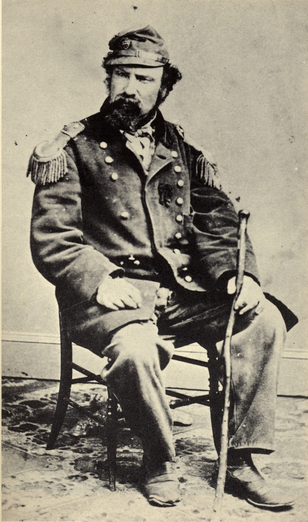 Emperor Norton in the 1860s (a)