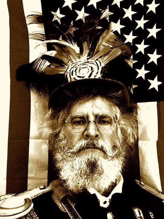 Joseph Amster as Emperor Norton.