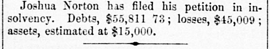 Notice in the Sacramento Daily Union, 1 September 1856.  Source:  California Digital Newspaper Collection .