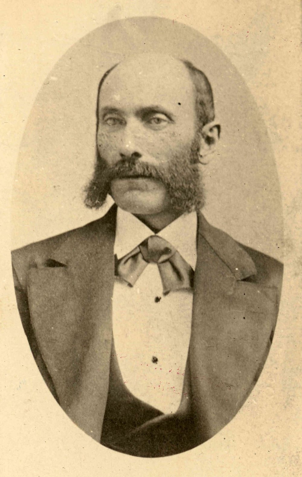 JOSHUA ABRAHAM NORTON in about 1851, at the height of his wealth. Collection of The Society of California Pioneers.