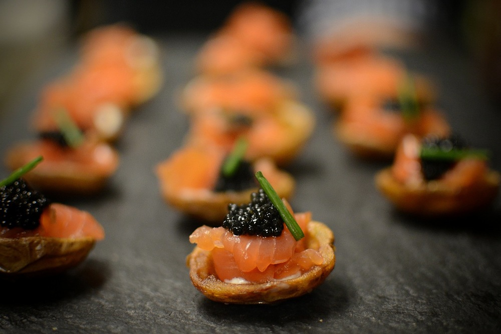 Smoked Salmon Hors d' Oeuvres.JPG