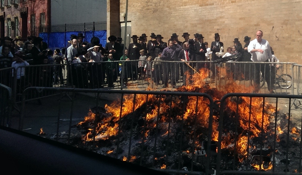 Satmar Juden, Brooklyn, NY