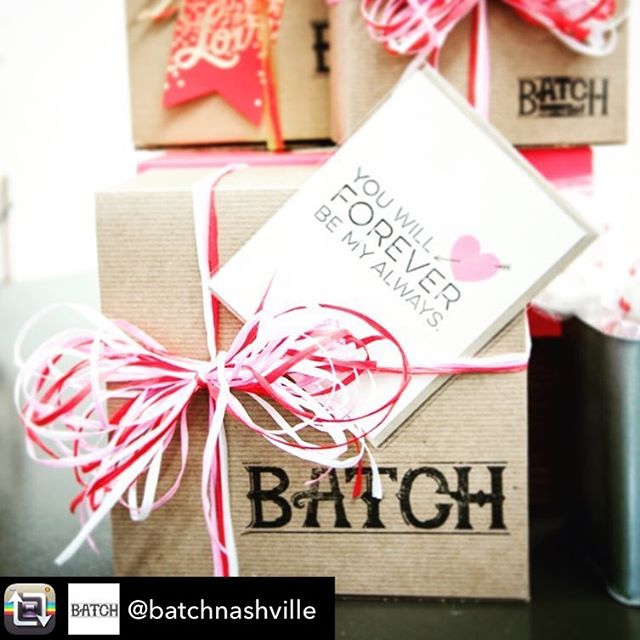 Send some Nashville love this Valentine's Day! Go see my lovelies at @batchnashville or visit them online! #shopsmall #shoplocal #supportsmallbusiness #nashville #nashvilletn #makers #tsbcalum #valentinesday #galentinesday