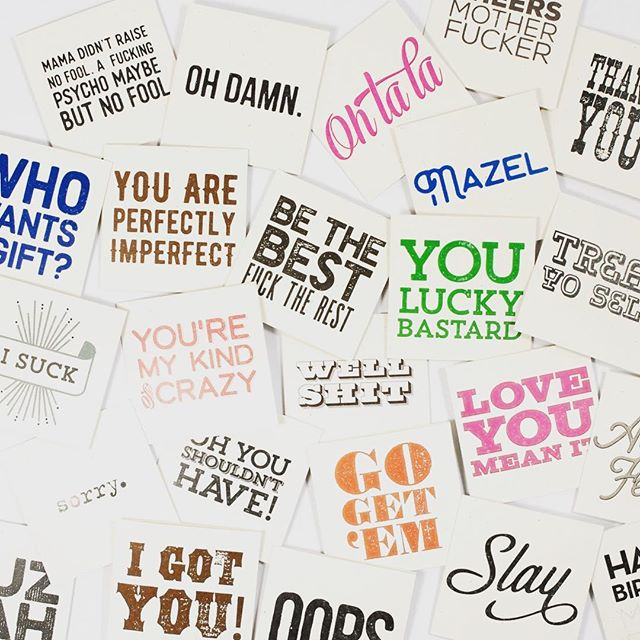 Mini Madness! Frame them, give them or hoard them! Perfect for a little pick me up #tsbcalum #mini #little #cards #notes #notecards #minicards #stationery #papergoods #smallthings #enclosure #ittybitty #sarcasm #honesty #tsbcalum #newproduct #madeintheusa #isuck #sorry