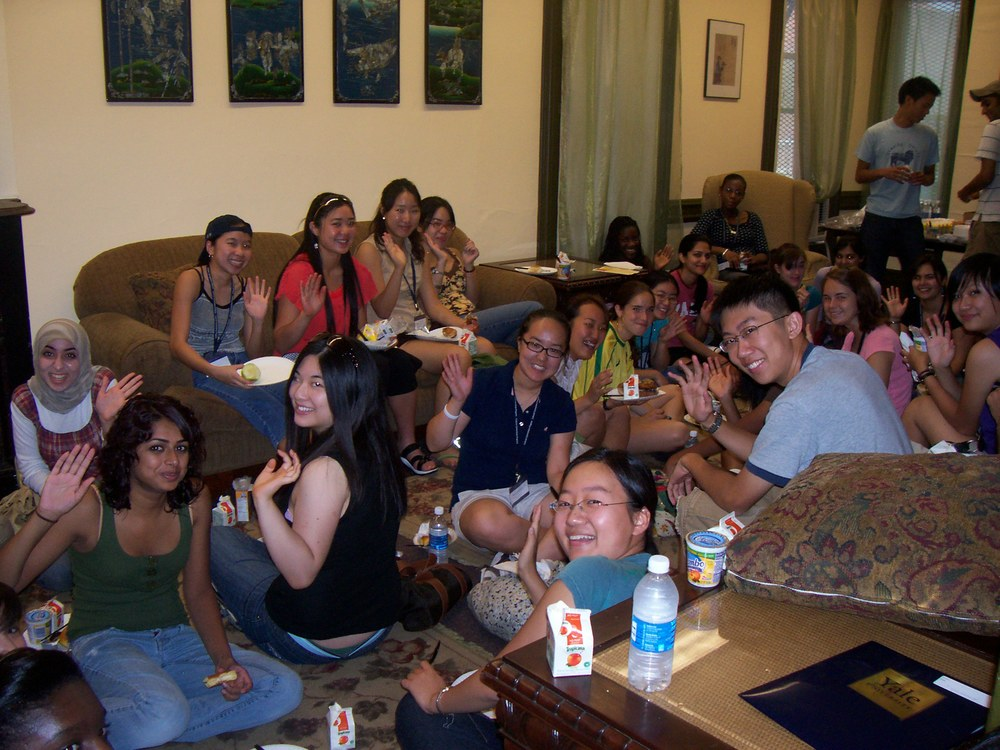 AACC Welcome Event w all Saying Hello.jpg