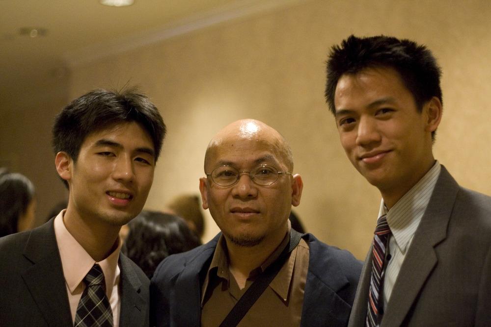 Jerry and Steve with Professor Van.jpg