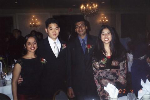 Sangini, Andy, Chiraag and Sarah 2003.jpg