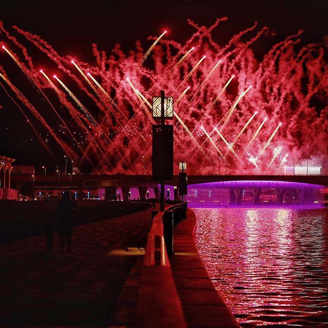 Inauguration Day #mydubai #fireworks #fujifilmxt1 #watercanaldubai