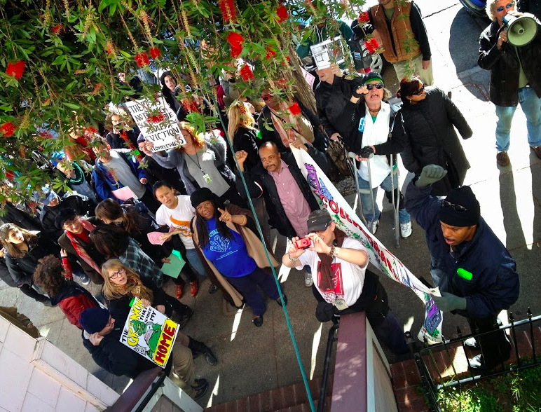 Protest at Urban Green Headquarters