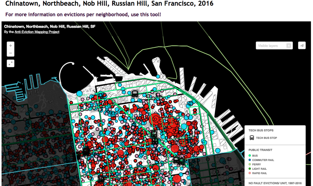 Nob Hill San Francisco Map.Chinatown Northbeach Nob Hill Russian Hills Sf Anti Eviction