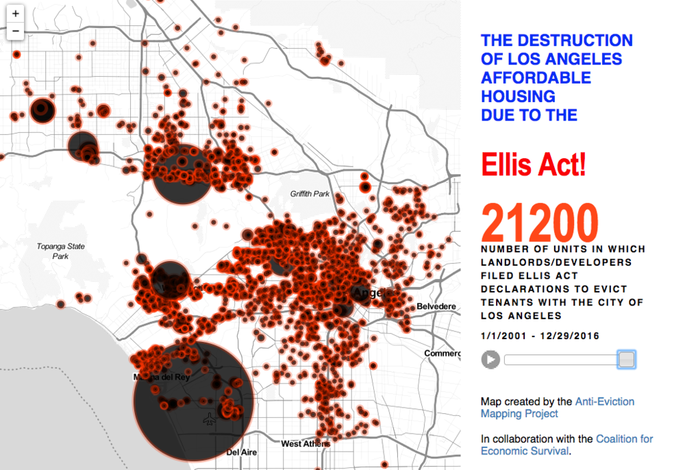 Ellis Act Evictions, Los Angeles
