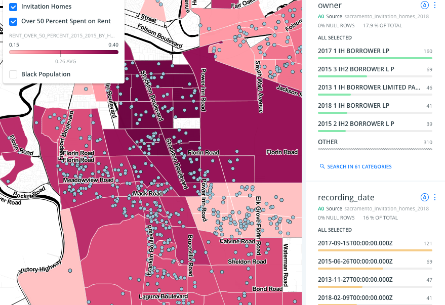 Invitation Homes, Sacramento — Anti-Eviction Mapping Project