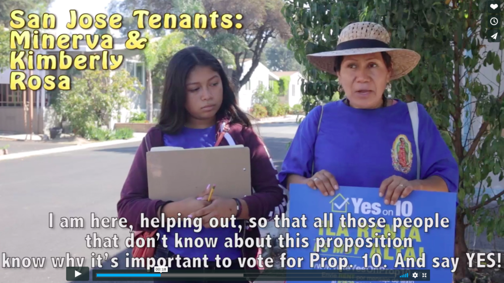 San Jose tenants for rent control!