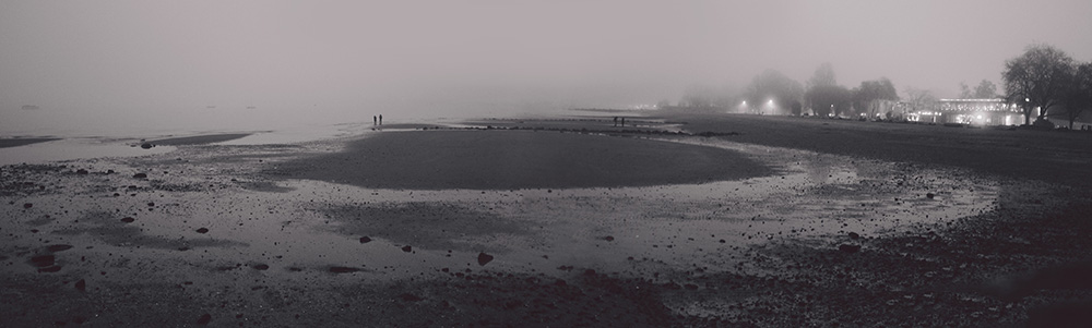 Kitsalano Beach Foggy Winter