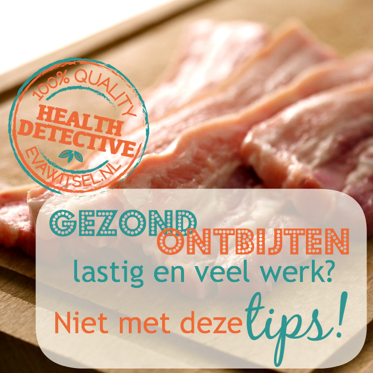 Paleo ontbijt tips | evawitsel.nl