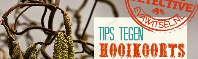 Tips tegen hooikoorts