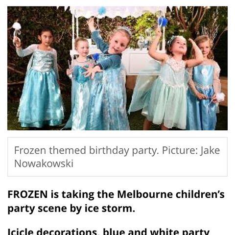 Herald Sun Frozen Article