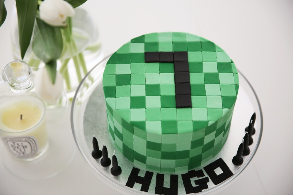 Hugo Minecraft Cake Burnt Butter Cakes
