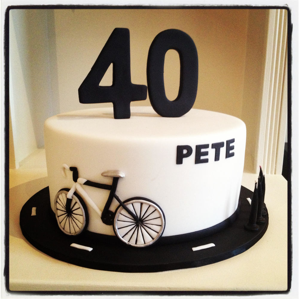 Cycling Cake Burnt Butter Cakes