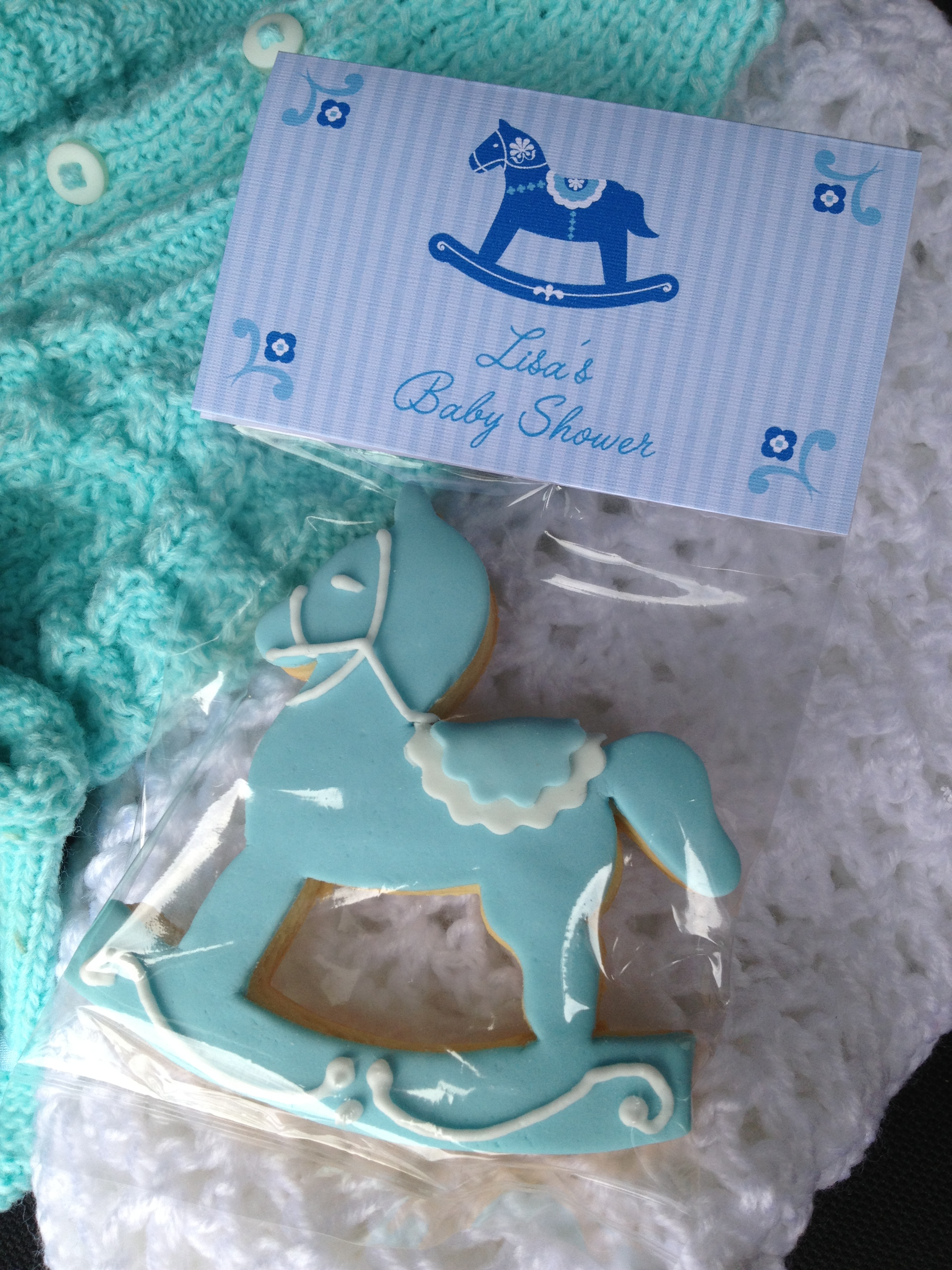 Rocking Horse Biscuit Burnt Butter Cakes