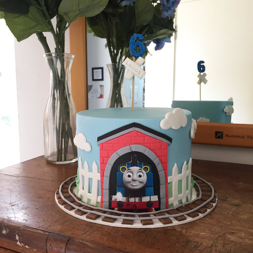 Thomas The Tank Engine Cake Burnt Butter Cakes