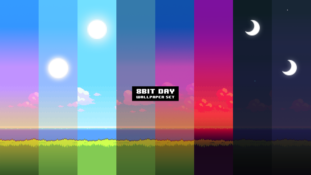8-bit Sunset