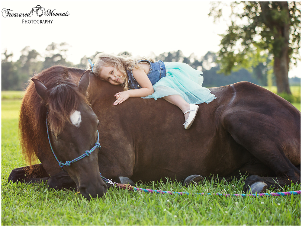 And who doesn't love to hug horses? I sure do!