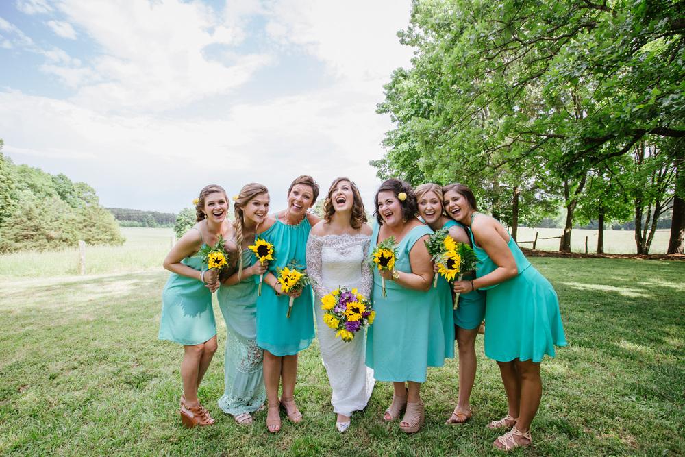 Sunflower Wedding Idea