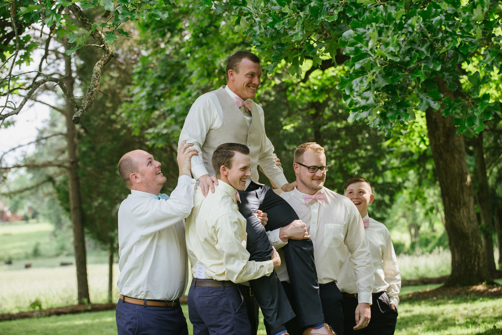 Fun Wedding Pose