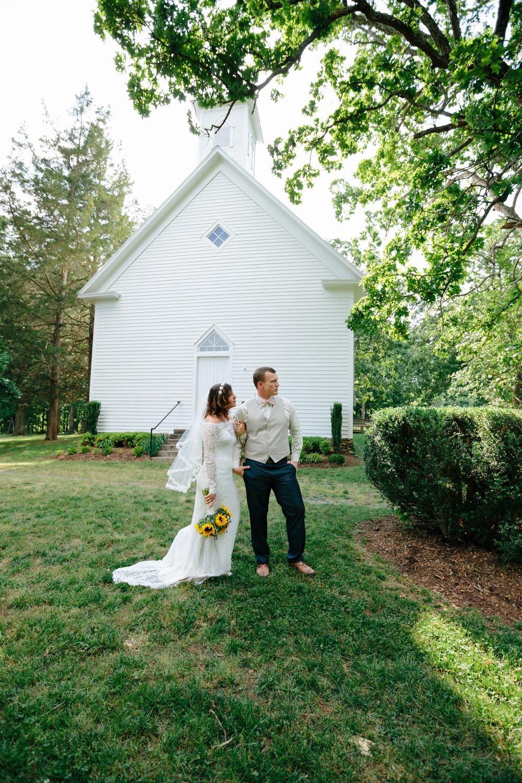 Little White Church Wedding