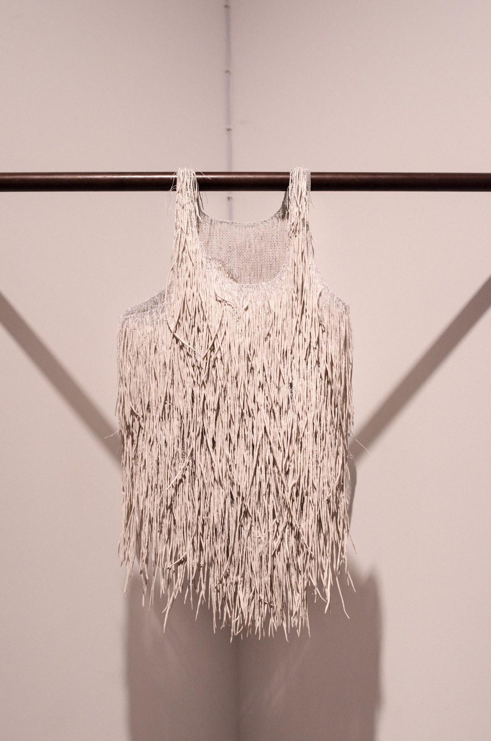 "Undershirt from the installation ""One By One"", 2013"