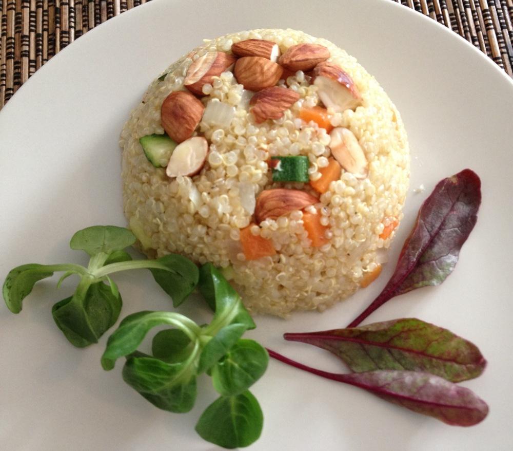 Silvia Flores - Risotto de quinoa y verduras