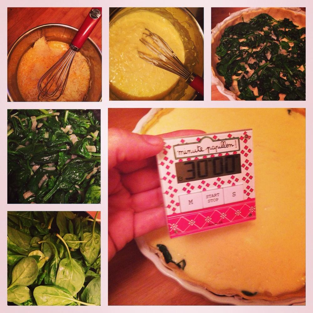 Tarta de espinacas, Slivia Flores