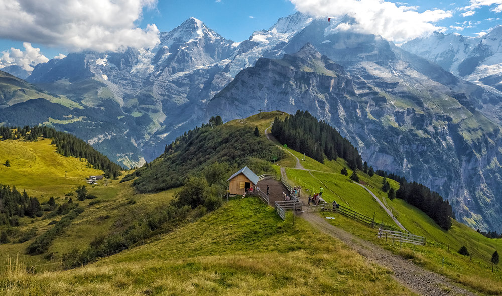 Swiss Alps - Allmenhubel near Murren