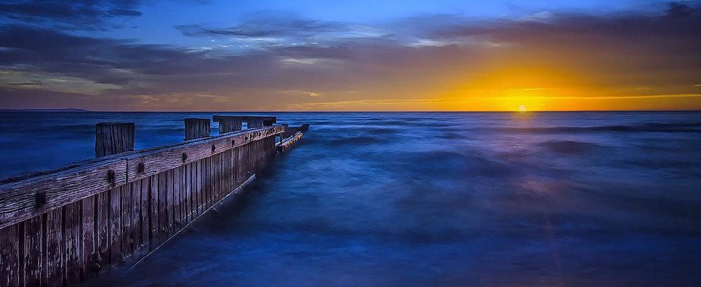 Looking out to sea - Mentone Groyne.jpg