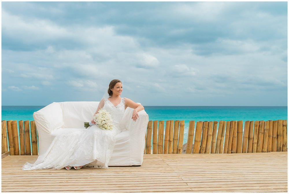 Cancun Mexico Bridal Photos-Destination Wedding Photographer Grand Oasis Sens
