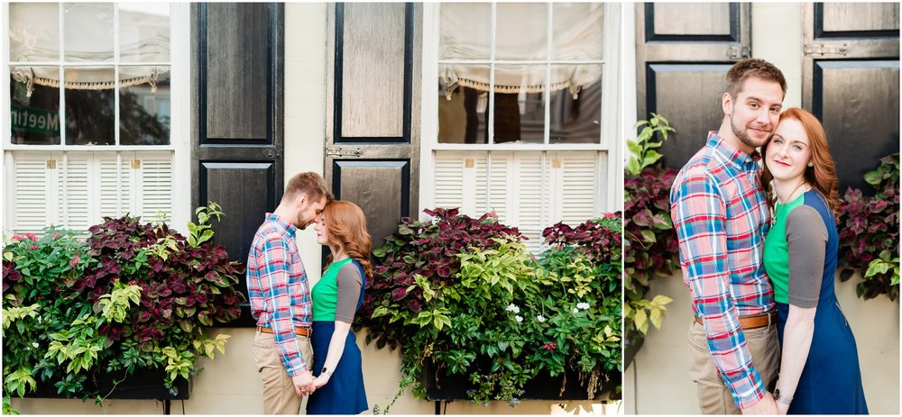 Downtown Charleston SC Engagement Photography