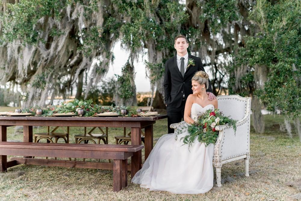 Natural, Romantic, Organic, Green Wedding Inspiration with Gold, Blush, and Marsala pallete_Charleston SC Wedding Photographer | Stephanie Kopf Photography