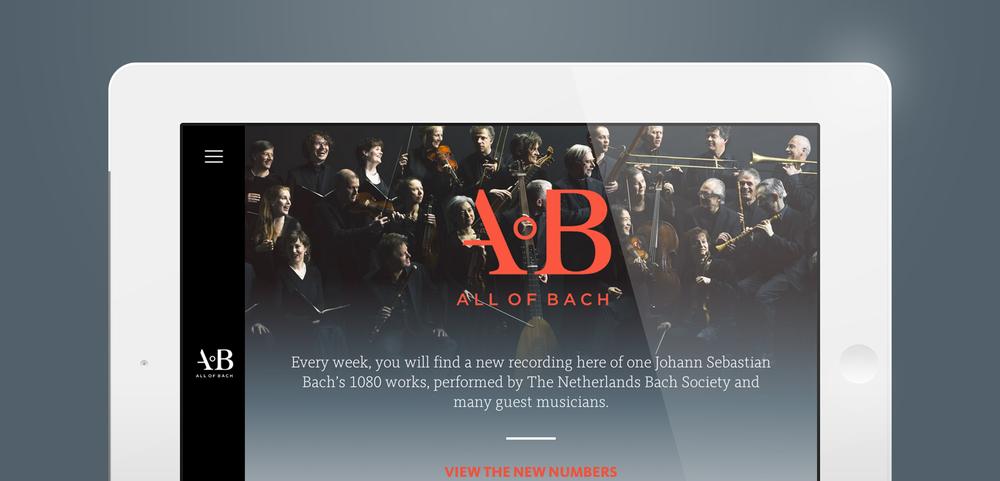 All of Bach - Portfolio of Sanne Wijbenga