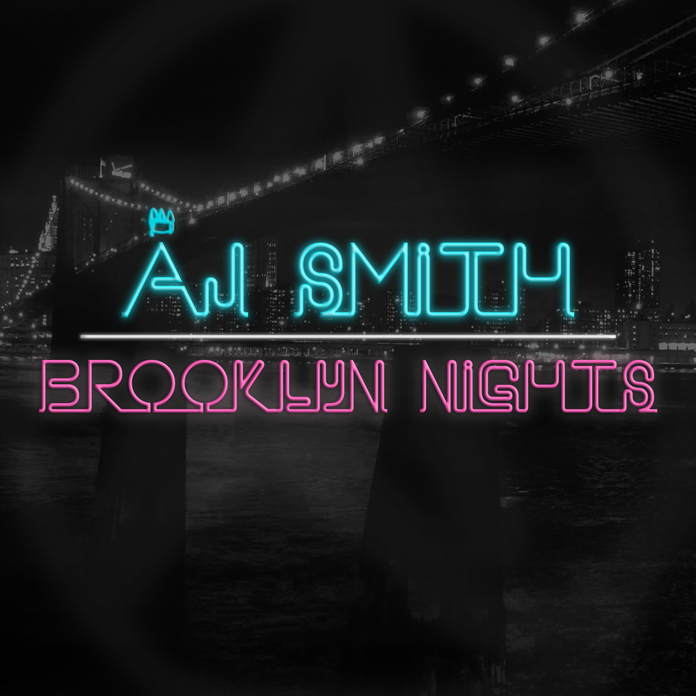 "Cover for AJ Smith's new single ""Brooklyn Nights"""