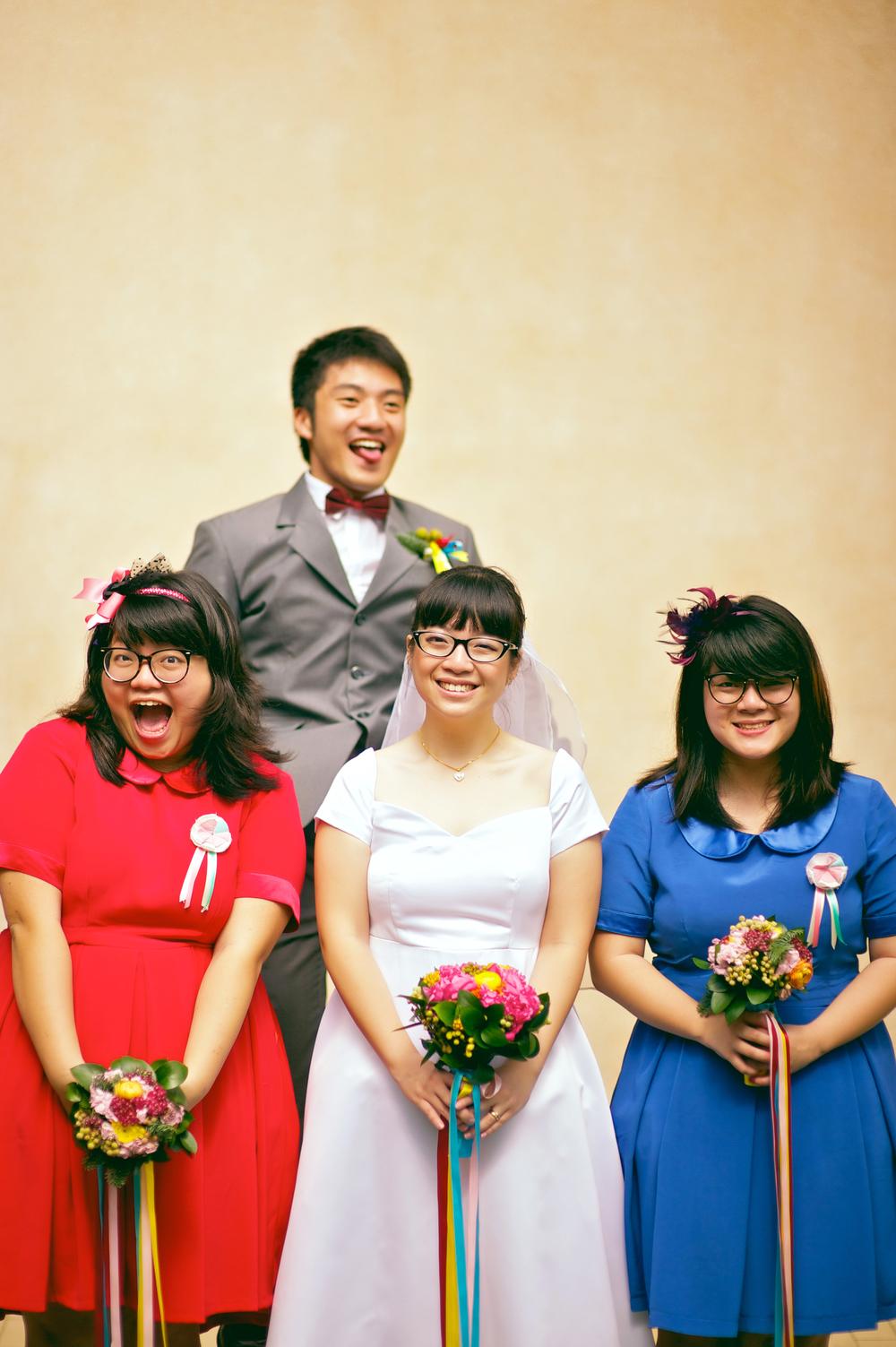 Weiyan's sister's wedding in 2011